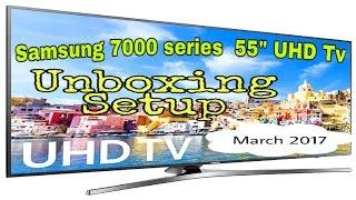 Samsung 7000 series 4k 55