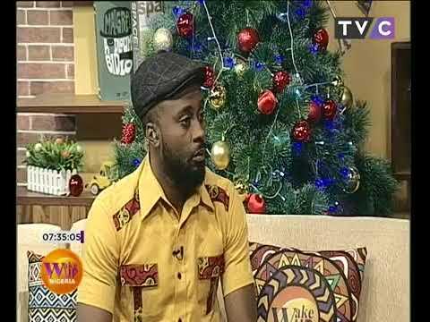 Video game segment on wake up Nigeria show