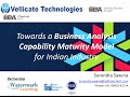 Business Analysis Capability Maturity Model for Indian Industry