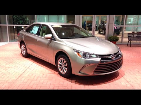 2015 Toyota Camry LE Full Tour - YouTube