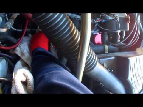 98 Honda Civic dx Clutch hose removal and installation