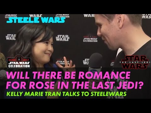 Download Youtube: Kelly Marie Tran on if there will be romance for Rose in The Last Jedi? – Steele Wars interview
