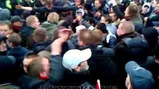 Ajax - Utrecht trein teruggestuurd 28 Februari 2010