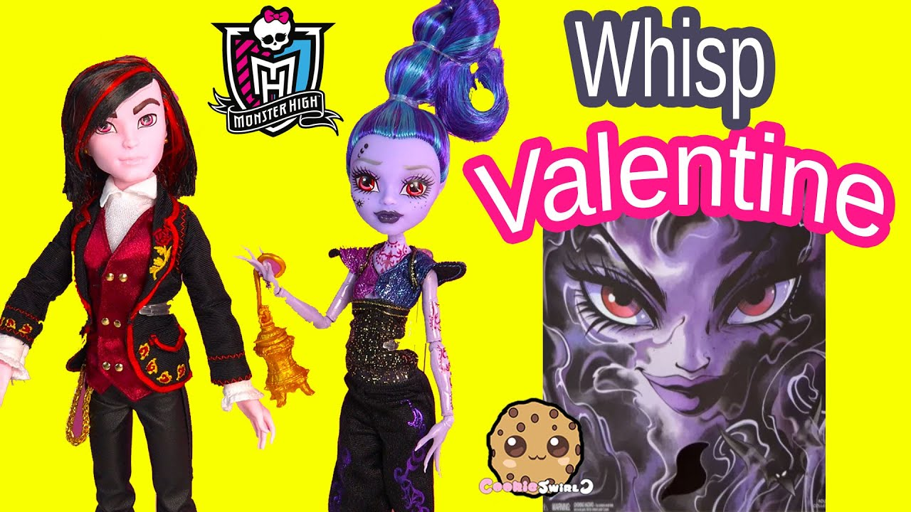 Monster High Valentine U0026 Whisp Villain 2 Doll Pack SDCC 2015 Exclusive  Dolls Toy Review Cookieswirlc   YouTube