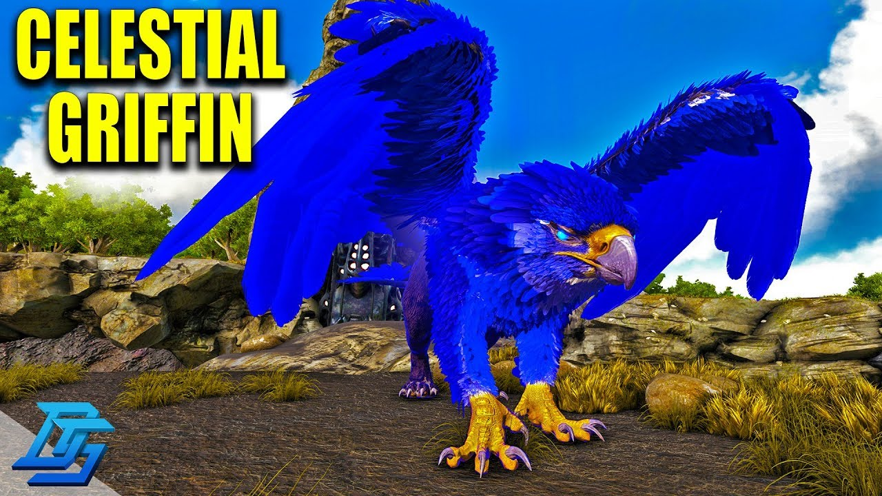 CELESTIAL GRIFFIN TAME! -ARK PRIMAL FEAR!- Ark Survival Evolved Modded-Lets  Play-Pt 21