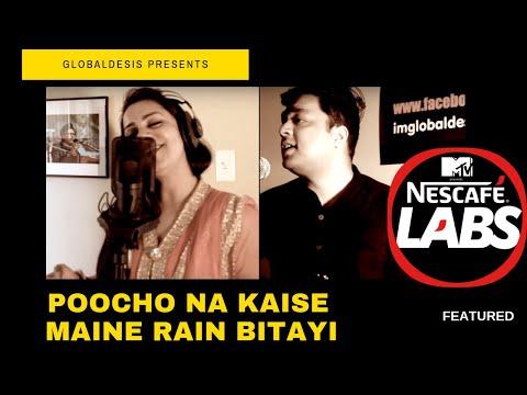 Poocho Na Kaise Maine Rain Bitai | Hindi Bangla Mix Version | Ft. Maumita and Sankalp