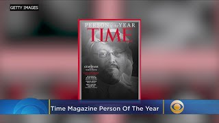 Jamal Khashoggi & Other Journalists Named Time's Person Of The Year 2018