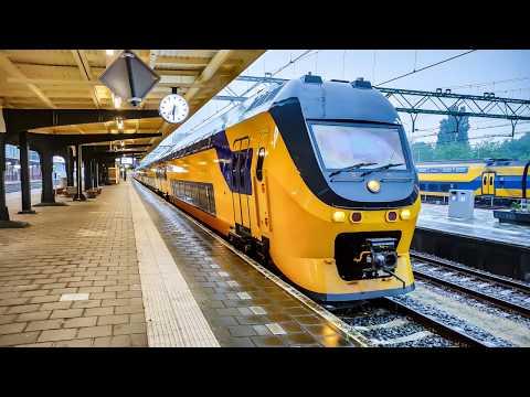 4K Cab Ride NL Zaandam - Den Helder - Amsterdam / IC (80)3010 + 833 / 15-06-2019
