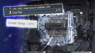 냉장고 부품으로 5.7GHz 오버클럭 해봤습니다