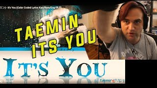 Gambar cover Guitarist Reacts to Taemin - It's You // New Taemin Song 2019