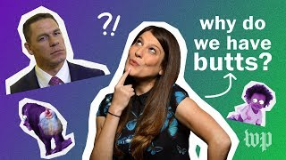 Why do we have butts? | Anna's Science Magic Show Hooray!