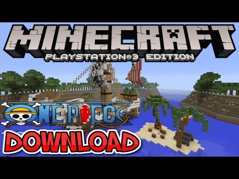 ONE PIECE ADVENTURE MAP DOWNLOAD MINECRAFT PS3 PS4 EU US DISC