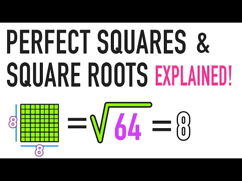 ☆ What is a Square Root and a Perfect...