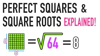 what is a square root and a perfect square   common core math
