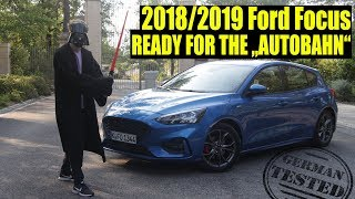2018/2019 Focus to beat the Golf? The Ford empire strikes back! Review ST Line