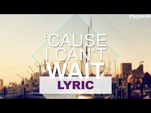 Eric Chase Feat. Michelle Hord - I Can't Wait (Official Lyric Video HD)
