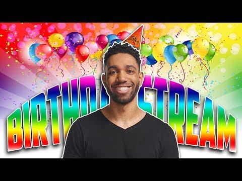 TOMORROWS MY BIRTHDAY SO LETS PARTY TONIGHT! - [Pre Birthday Livestream]