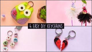 4 Easy DIY Keychains