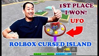 ROBLOX CURSED ISLAND - PHILIP GOT HUGE LUCK AND WON 1ST PLACE IN THE GAME