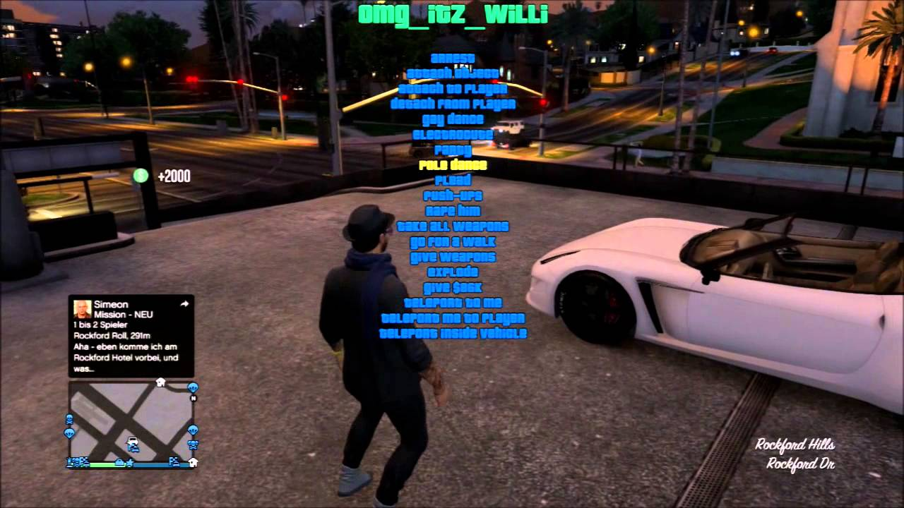 Gta mod menu ps3