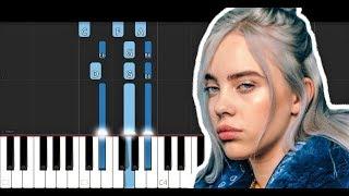 Billie Eilish - Wish You Were Gay (Piano Tutorial) Video