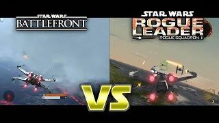 STAR WARS - Battlefront Vs Rogue Squadron II: Rogue Leader
