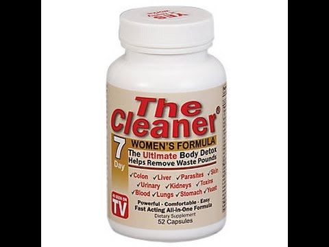 The Cleaner (the ultimate body detox) women's formula 7 day