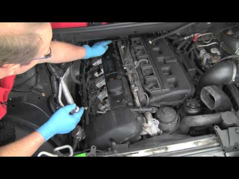 Part 1- Replacing a BMW 6-cylinder valve cover gasket