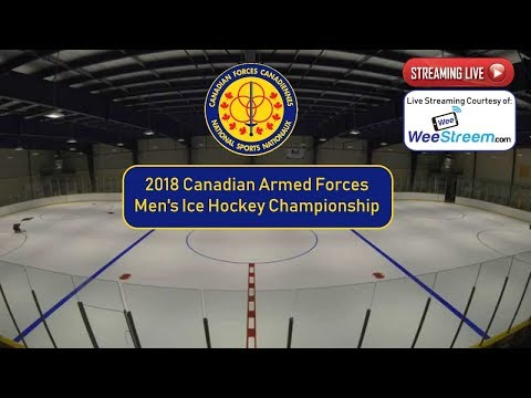 2018 Canadian Armed Forces Men's Ice Hockey Championship