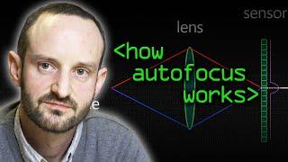 How Autofocus Works - Computerphile