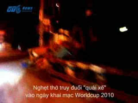 CSHS dùng xe Exiter bắt gọn quái xế đêm World Cup
