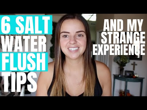 6 TIPS FOR A SALT WATER FLUSH // PINK SALT VS SNAKE JUICE FLUSH