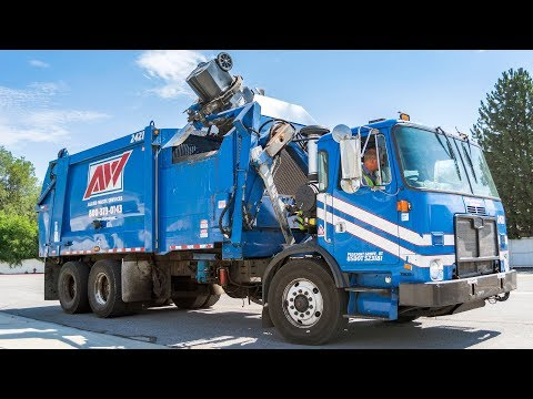 Autocar ACX - Heil DuraPack 7000 Garbage Truck