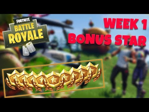 WEEK 1 BONUS STAR LOCATION - SEASON 5 (Fortnite Battle Royale)