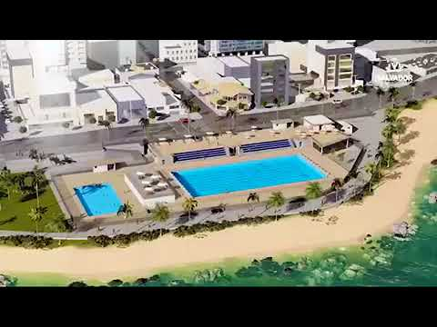 Nova piscina olimpica de salvador youtube for Diseno grafico de piscina olimpica