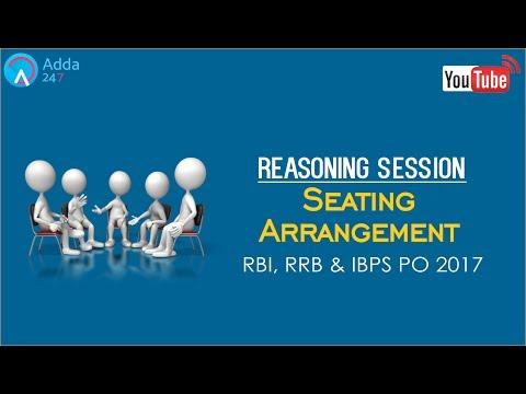 RRB , RBI, IBPS | Seating Arrangement | Reasoning | Online Coaching for SBI IBPS Bank PO