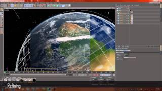 Earth - Cinema 4d Speedrun Tutorial