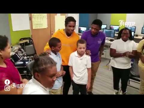 A$AP ROCKY FREESTYLES FOR THE KIDS AT THE UNDER ARMOUR 'HOUSE AT FAYETTE'