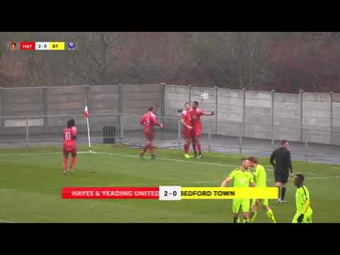 Hayes & Yeading v Bedford Town - 10th Feb 2018