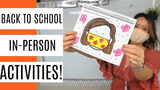 Activities For Back To School In-Person! | Lysol Here For Healthy Schools