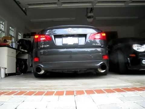 2006 Lexus IS250 Exhaust Upgrade - ClubLexus - Lexus Forum