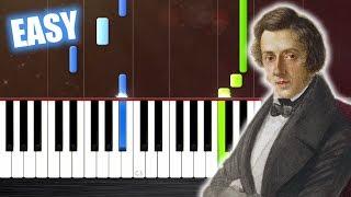 Baixar Chopin - Nocturne Op. 9 No. 2 - EASY Piano Tutorial by PlutaX