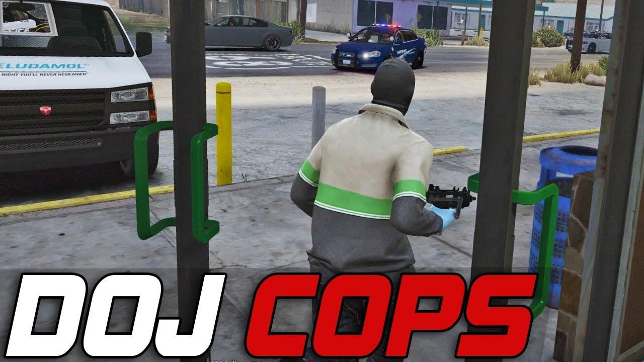 Dept  of Justice Cops #248 - Fleeca Solo Take Down (Criminal)