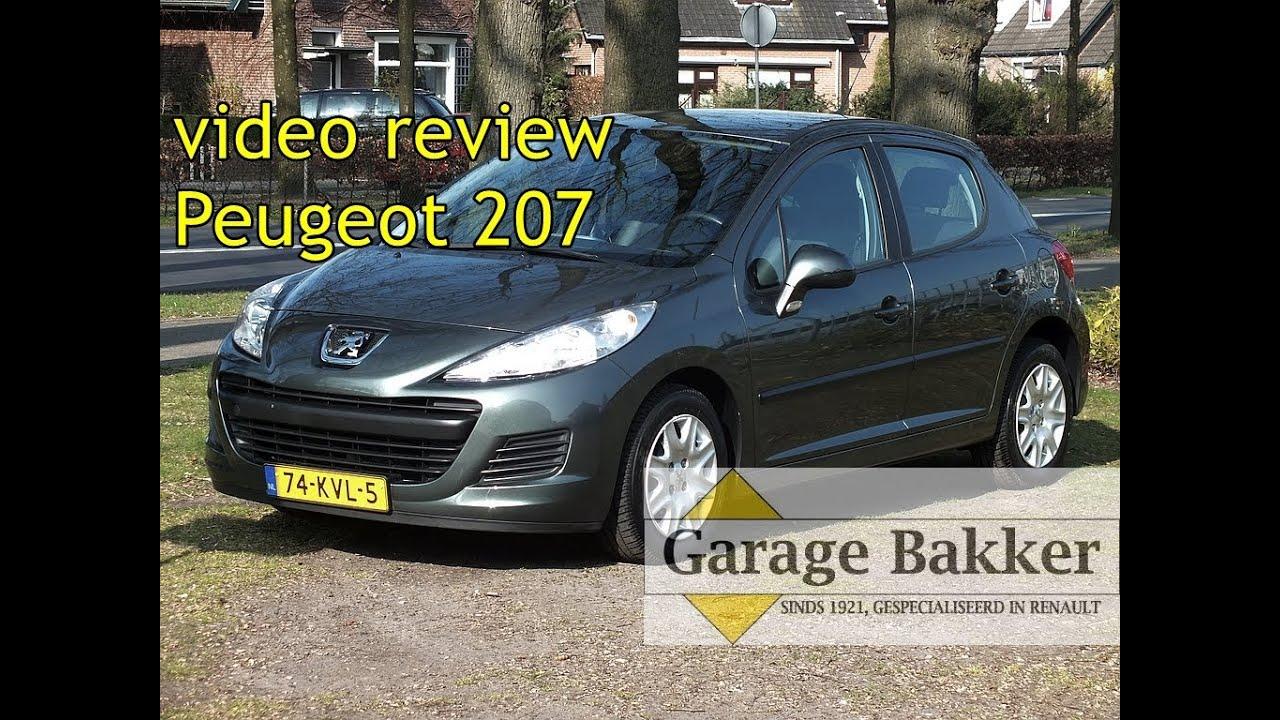 video review peugeot 207 1 4 x line 02 2010 74 kvl 5
