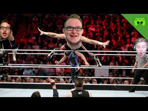 LADDER ÄKTSCHN 🎮 WWE2K16 #13