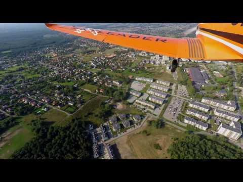 Lot z Karolem nad Katowicami 09.09.2017r