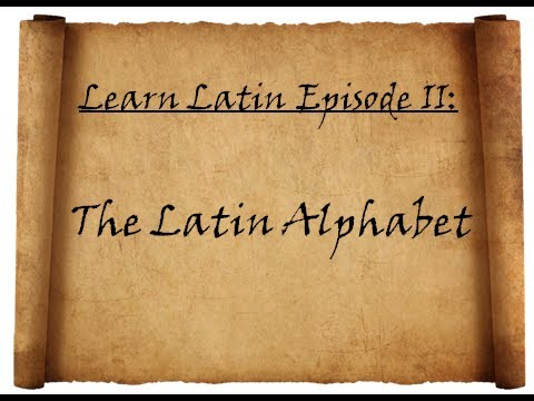 Learn Latin Pronunciation 2