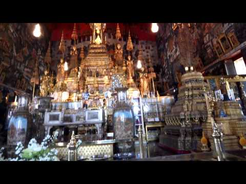 Emerald Buddha through Google Glass
