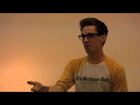 Buffalo artist Max Collins discusses 'Press in the Flesh'