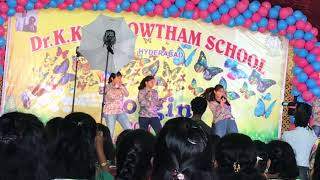 Amazing dance by kkr students